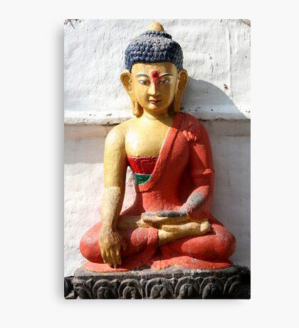 Buddhism statue Canvas Print
