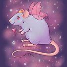 Fairy Princess Rat- Blue by Rapps