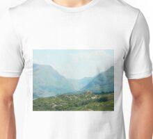 Llanberis Pass from Outside Llanrug Unisex T-Shirt