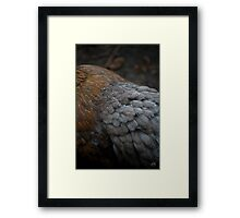 Water on Smoke Framed Print