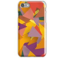 Colorful Triangle Patterns iPhone Case/Skin