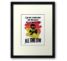 A love like war Framed Print