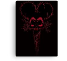 Hammer Mouse of Horror  red version Canvas Print