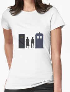 A Study In Time Womens Fitted T-Shirt