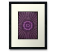 The Hawkeye Framed Print