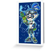 Squid Boy Greeting Card