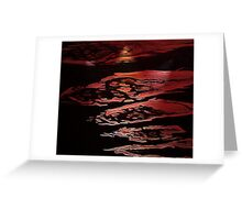 Smoke On The Water (part 2) Greeting Card