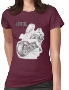Hard tail Womens Fitted T-Shirt
