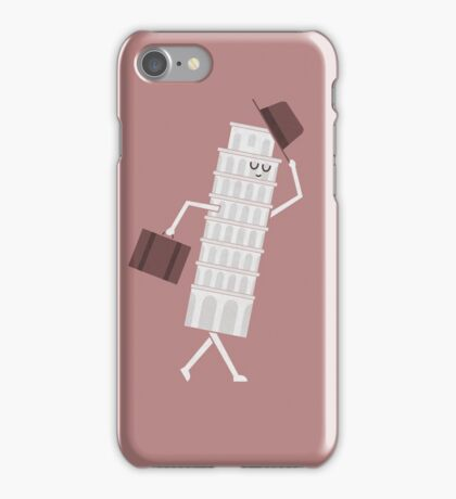 The Leaving Tower Of Pisa iPhone Case/Skin