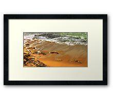 estoril beach Framed Print