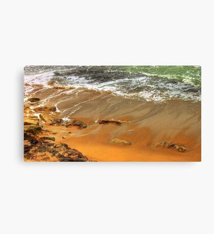 estoril beach Canvas Print