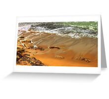 estoril beach Greeting Card