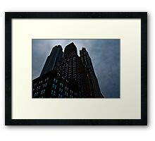 Gotham Central Framed Print