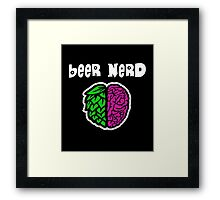 Beer Nerd Framed Print