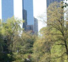 Central park, New York. Sticker