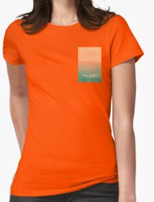 Peak District National Park - Lose Hill Womens Fitted T-Shirt
