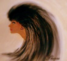PORTRAIT OF LYNNIE by Sherri     Nicholas