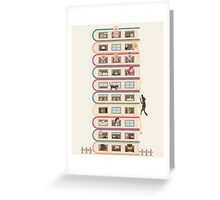 10 Stories High Greeting Card