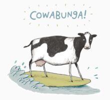 Cowabunga! One Piece - Short Sleeve