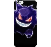 pokemon gastly, haunter & gengar iPhone Case/Skin