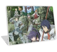 log horizon shiroe guild Laptop Skin