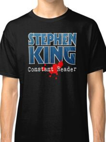 Stephen King Constant Reader Classic T-Shirt