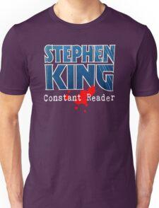Stephen King Constant Reader Unisex T-Shirt