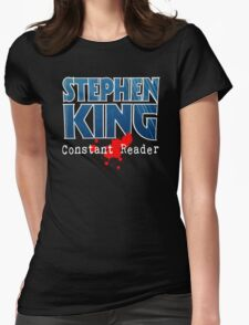 Stephen King Constant Reader Womens Fitted T-Shirt