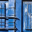 Blue Door Matrix by Glen Allison