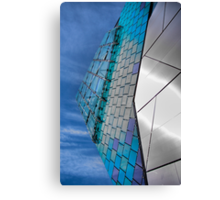 Building detail, The Deep, Hull UK Canvas Print