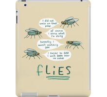 fLIES iPad Case/Skin