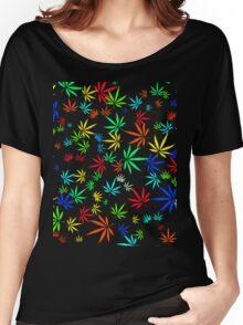 Juicy Marijuana Leaves Women's Relaxed Fit T-Shirt