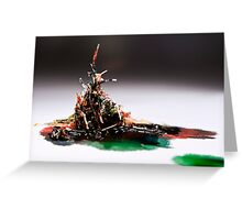 Pulled Plastic Series: 1 of 3 Greeting Card