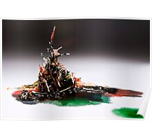 Pulled Plastic Series: 1 of 3 Poster