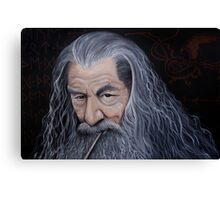 Listen to the Grey Canvas Print