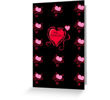 PS. I Love You Greeting Card