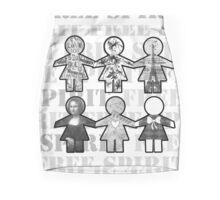 paper dolls Mini Skirt