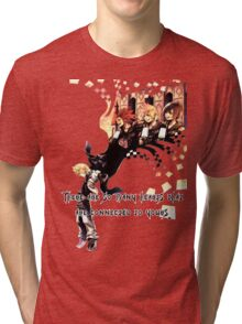 Kingdom Hearts Roxas memory Tri-blend T-Shirt