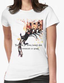 Kingdom Hearts Roxas memory Womens Fitted T-Shirt