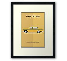 Taxi Driver - Vehicle Inspired Print Framed Print