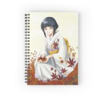 Hinata in the leaves Spiral Notebook