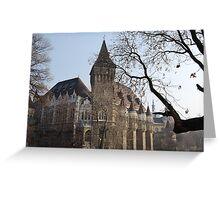 Vajdahunyad Castle Greeting Card
