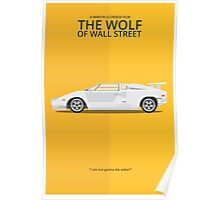 The Wolf of Wall Street - Vehicle Inspired Print Poster