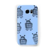 Blue Robots Samsung Galaxy Case/Skin
