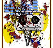 grunge cassette by geot