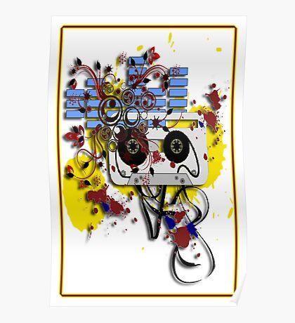 grunge cassette Poster