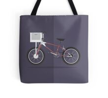 E.T. the Extra-Terrestrial - Vehicle Inspired Print Tote Bag