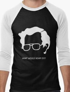 Noam Chomsky Men's Baseball ¾ T-Shirt