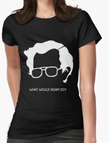 Noam Chomsky Womens Fitted T-Shirt