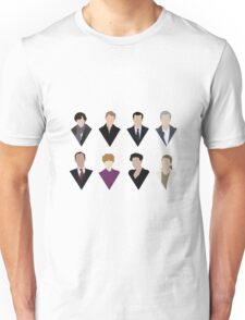 Sherlock and 'Friends' Unisex T-Shirt